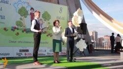 Урысларның Гаилә көнендә казаннар татар балалар матбугаты белән танышты
