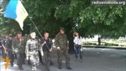 Озброєних людей «попросили» з рівненського мітингу