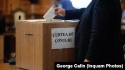 Vot in parlament pentru Curtea de Conturi