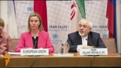 "EU, Iranian Negotiators Welcome ""Historic"" Nuclear Deal"
