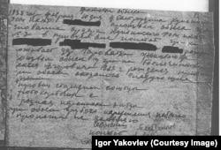 Протокол обыска Алексея Бельченкова
