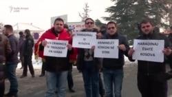 Protesta në Shkup për lirimin e Haradinajt