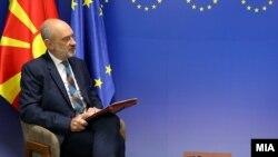 Eвроамбасадорот Дејвид Гир
