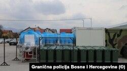 Oprema koju je Vlada Sjedinjenih Američkih Država donirala Graničnoj policiji Bosne i Hercegovine (19. april)