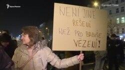 На митинге в Праге призывают к отставке премьер-министра Бабиша (видео)