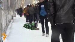 Талбандагӣ дар кӯчаҳои Душанбе