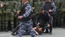 Rusiya boyu mitinqlərdə yüzlərlə adam saxlanıb