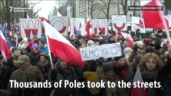 Polish Protests Prompt Political Crisis