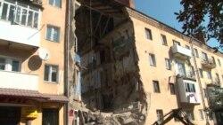 Обвал під'їзду у Дрогобичі – кадри з місця подій