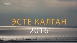 2016: Компроматтар кармашы
