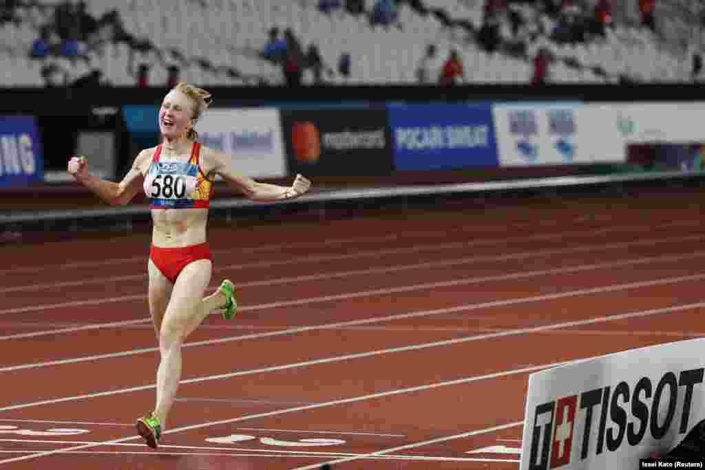 Дарья Маслова- Азия оюндарынын жана Азиянын эки жолку чемпиону. Маслова 5000 жана 10 000 метр аралыкка чуркаган жеңил атлет. Акыркы жылдары ал күчүн марафондук жарыштан сынап, Олимп оюндарына жолдомону дал ушул дисциплинадан алды. Жеңил атлет 8-августа мелдешке чыгат.