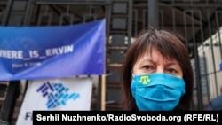«Хождение по кругу». Акция-напоминание о жертвах насильственных исчезновений в Крыму (фотогалерея)