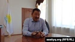 Батыс Қазақстан облысы Сырым ауданының әкімі Төлеген Төреғалиев.