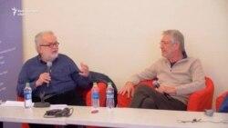 George Banu și Marcel Iureș despre versuri, personaje și actori singuratici