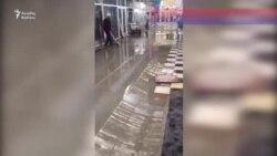 """""""Sədərək"""" TM -nin malları suyun altında qalıb"""