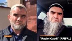 Саиднуриддин Розиков в Таджикистане (слева) и в Свердловской области РФ (справа). Фото слева сделано 3 апреля 2021 года