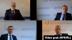 Pamje e marrë nga video-incizimi i konferencës së shtatë statusore në Dhomat e Specializuara në Hagë. 14 shtator 2021.