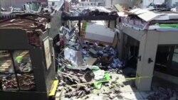 Наслідки торнадо в місті Нашвіллі – відео з дрона