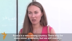 Vox Pop: Muscovites On New Western Sanctions