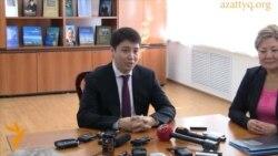 Задержан активист, бросивший яйца в министра