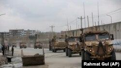 Trupe britanice din forțele internaționale din Afganistan, Kabul, 2 martie 2020.