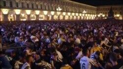 Давка на стадионе в Турине