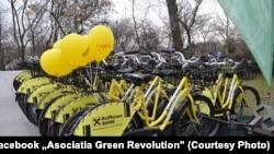 Unul dintre proiectele de mediu ale Asociației Green Revolution este cel de bike-sharing.