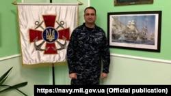 Контр-адмирал Алексей Неижпапа, командующий Военно-морскими силами Украины