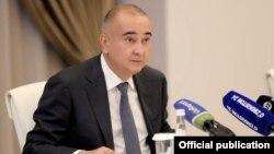 Tashkent Mayor Jahongir Ortiqhojaev (file photo)
