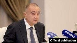 Toshkent shahri hokimi Jahongir Ortiqxo'jayev