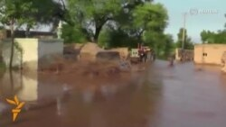 Floods Destroy Villages In Pakistan's Punjab Province