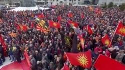Македониялыктар өлкөнүн аталышын коргоп чыкты