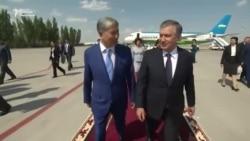 Өзбекстандын президенти Бишкекке келди