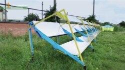 Сонячна станція з обгортки для морозива