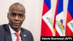 Президент Гаити Жовенель Моиз.