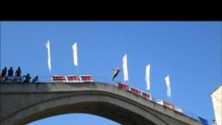 """Mostarska lasta"" sa Starog mosta"