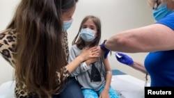 Илустрација: Вакцинација на деца