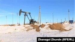 Месторождение нефти в Актюбинской области Казахстана.