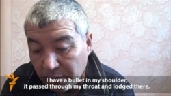Wounded Kazakh Oil Worker Interview
