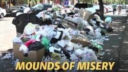Trash Talk: Foreign Firm Under Fire As Yerevan's Garbage Piles Up
