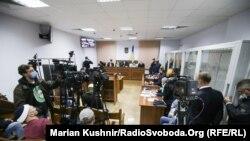 Одно из заседаний по делу об убийстве журналиста Павла Шеремета, Киев, октябрь 2020 года.