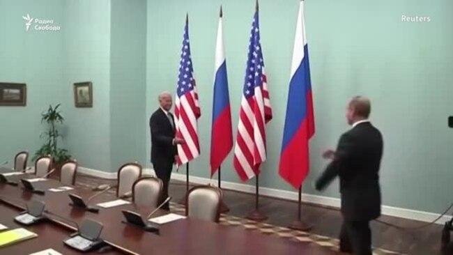 Без иллюзий . Байден и Путин готовятся к встрече
