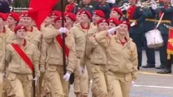 Putin Reviews Victory Day Parade