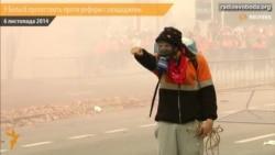 Перевернуті авта, димові шашки – у Бельгії протестують проти реформ і заощаджень