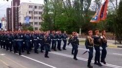Генеральна репетиція військового параду в Керчі (відео)