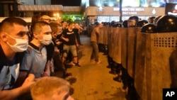 Протест в Мінську після виборів 9 серпня 2020 року