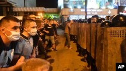 Протесты после голосования на президентских выборах в Республике Беларусь