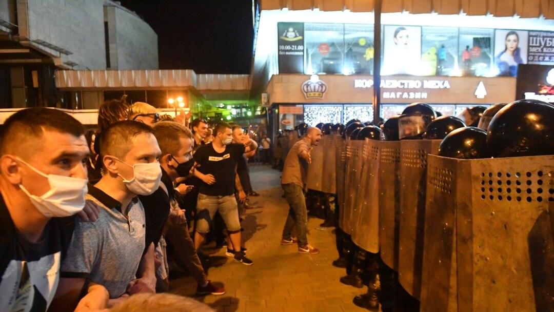 Բելառուսում շարունակվել են ակցիաները, կան վիրավորներ,ձերբակալվել են բողոքի ցույցերի համակարգողներր