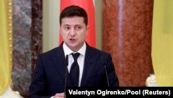Президенти Украина Владимир Зеленский