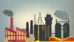 Опасные вещества в воздухе